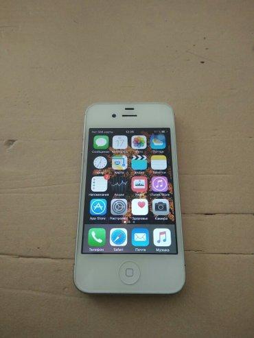 Iphone 4s 16gb отличное состояние зын зын зын в Бишкек