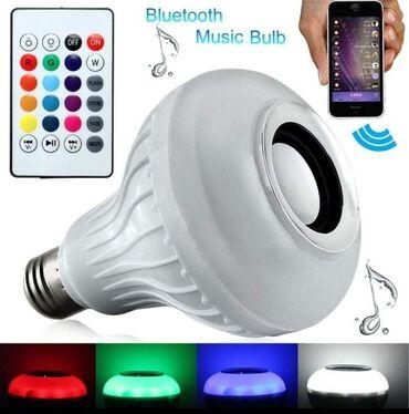 Kuća i bašta | Arandjelovac: 1700dinLED Bluetooth Muzička Sijalica-Zvučnik sa daljinskim RGB LED