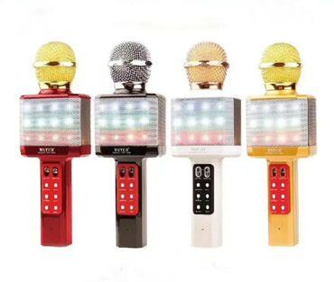ses güçlendirici - Azərbaycan: Karaoke mikrafonu wester keyfiyyetli ModellərTemiz səslənməsiFlaş
