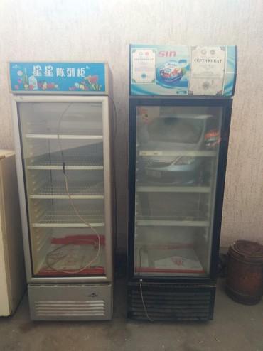 stolovye-pribory-bez-nozha в Кыргызстан: Б/у Холодильник-витрина Серый холодильник