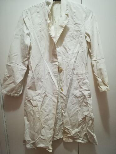 Ostalo | Srbija: Beli mantili 3 kom 3 bela mantila korišćena  Različite veličine