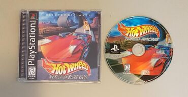 TURBO HOT WHEELS FOR PLAYSTATION (THE BEST GAME) PS1 / PS2(CHIP) /