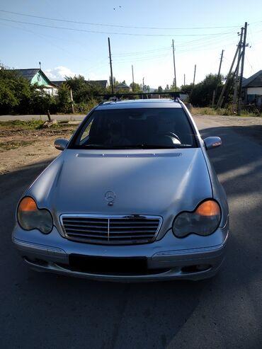 Mercedes-Benz в Кызыл-Суу: Mercedes-Benz C 200 2 л. 2002