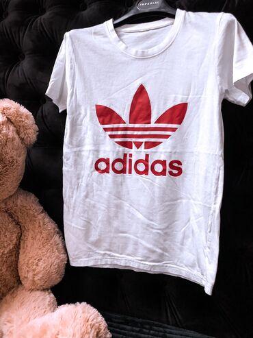 Majica adidas sweatshirt - Srbija: Adidas majica, u S/M veličini. Bez oštećenja