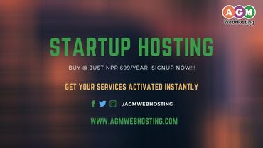 Buy Startup Hosting on AGM Web Hosting Worried about not having big