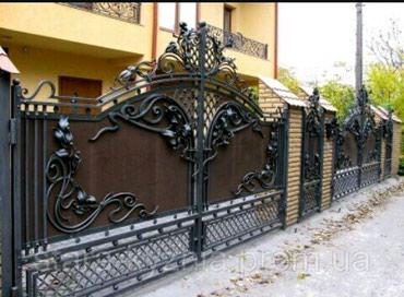 Вообще мощьные кованные ворота. обращайтесь по номеру 👇 в Бишкек