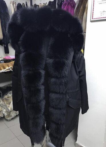 odin raz odevala na vypusknoj в Кыргызстан: Продам очень красивую и тёплую парку с мехом Saga (лиса), размер