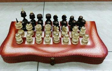 Шахматы из кожи в Бишкек
