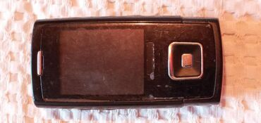 Samsunq s4 - Azərbaycan: İşlənmiş Samsung E900 2 GB qara