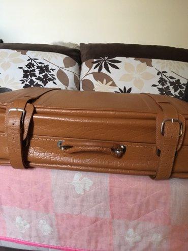 Nov kozni kofer, kupljen u poljskoj, izuzetan kvalitet, iznutra - Belgrade