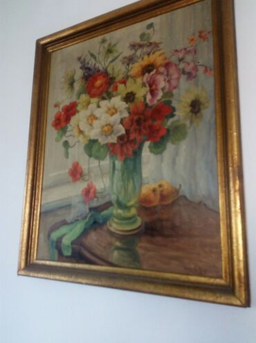 Umetnicka slika sa potpisom slikara 81x67