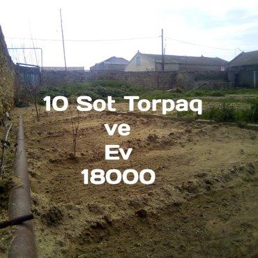 Bakı şəhərində Bakının Türkan Qəsəbəsində 10 Sot torpaq ve içində 156 Kvadrad Hamamı