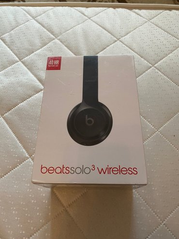Срочно! Beats Solo3 Wireless Gloss Black