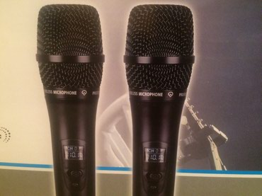 Bakı şəhərində Karaoke ucun ideal Mikrafon 2-li cut xanimlar ve beyler ucun buyurun