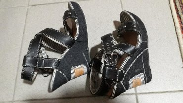 "Atraktivne sandale br 38,manji kalup, očuvane Marka ""Bosido"""