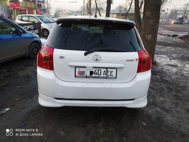 трещина в Кыргызстан: Toyota Allex 1.5 л. 2004 | 245255 км