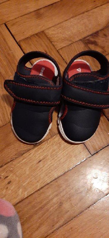 Dečija odeća i obuća - Sopot: Reebook sandale, ocuvane, 12.5cm