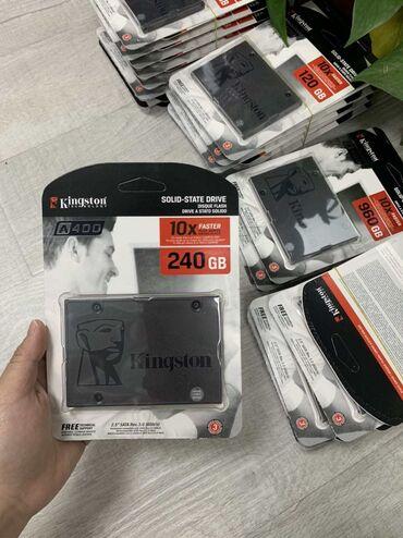 Kingston ssd диски ( остались только 120 gb) не вскрытые, новые