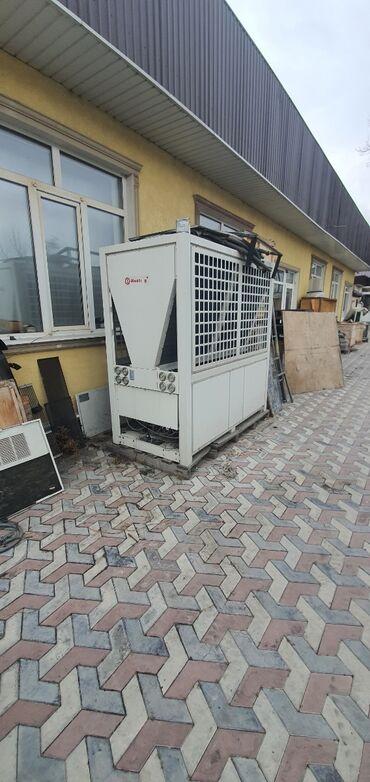 тепловая электропушка в Кыргызстан: Тепловой насос чиллер meeting 72 к.вт площадь обслуживания 750м²