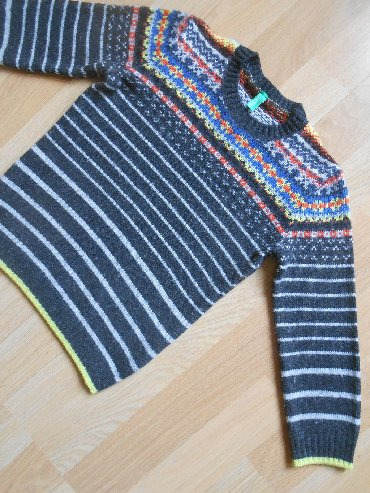 Ostala dečija odeća | Becej: Benetton džemper vel 3/4 god (100 cm) Besprekorno očuvan, bez ikakvih