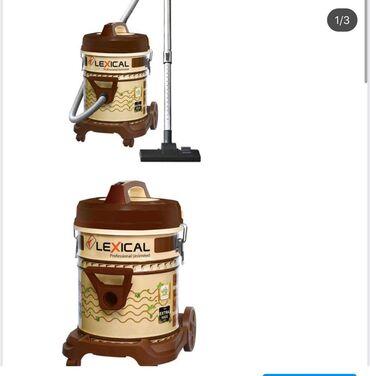 Мощный пылесос .LEXICAL LVC-4002-3 С контейнером 25л Brown/Cream