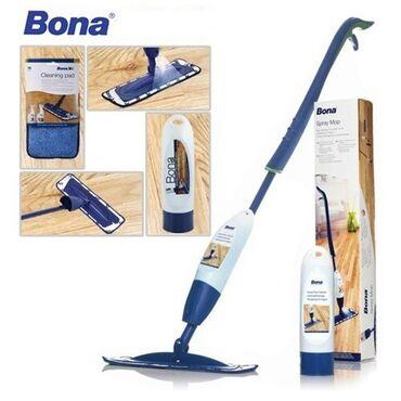 где купить ткань для мебели в Кыргызстан: Набор для ухода BONA Spray Mop: швабра с распылителем средства по