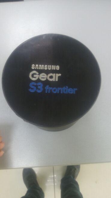 samsung gear s3 в Кыргызстан: Продаю умные часы Samsung Gear S3 fronter в хорошем состоянии, полный