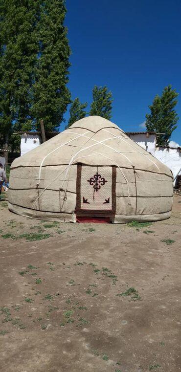 Юрты - Бишкек: Боз үй 75 баш абалы жаңы баасы