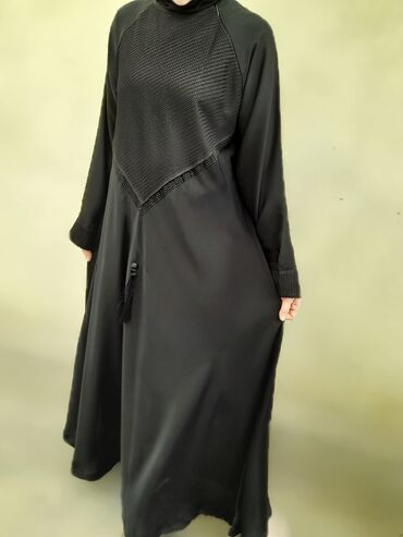 Женская одежда - Кыргызстан: НОВЫЕ1)Шикарная абая с Арабских Эмиратов Размер 42-44-46 s,m Не