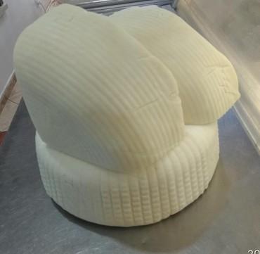 Сыр творожный сливочный profi cheese - Кыргызстан: Продаю КОЗИЙ СЫР из цельного( не сепарированное) молока. Мягкий, полут
