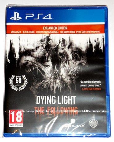 Ps4 üçün dying light the following oyunu. Sony PlayStation 4