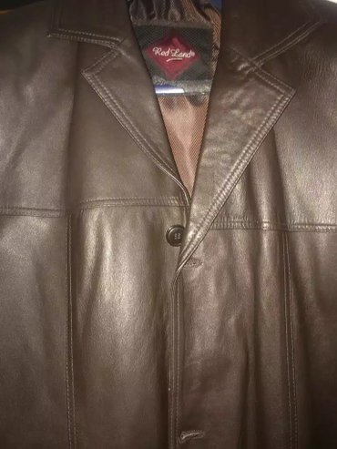 Продам кожаный новый плащ.покупали за в Бишкек