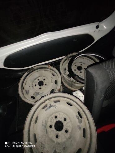железные диски r14 в Кыргызстан: Железные диски штамповки R14 в отличном состоянии!
