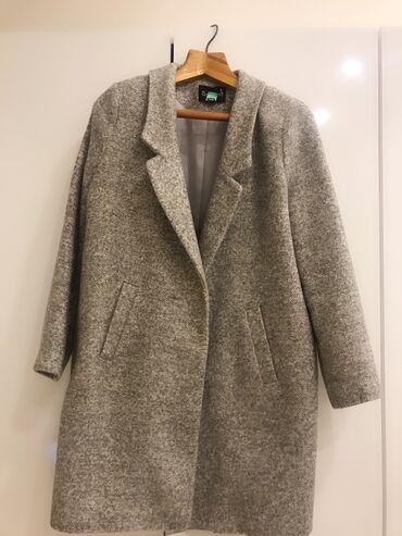 Пальто турецкое на двух пуговицах. Деми ( пуговички пропали)