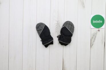 Дитячі рукавиці на флісі з регулюванням    Довжина: 17 см  Ширина: 8 с