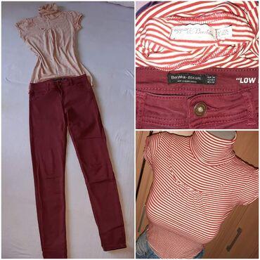 Clio - Srbija: Bershka set❤ pantalone i majica brenda Bershka, vel S/M. Cena za set