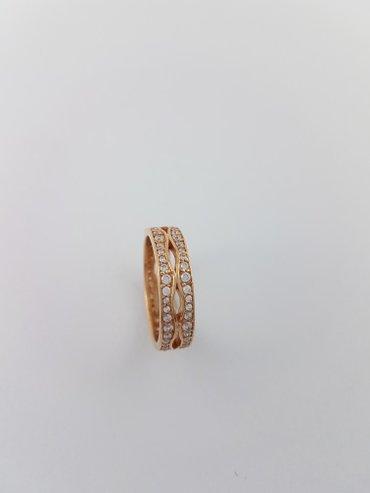 Кольцо из красного золота размер 17. 5 в Бишкек