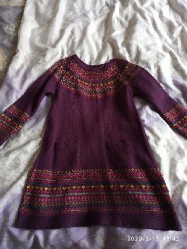 детские двойные шапки в Азербайджан: Детское платье на 3-4-5 лет