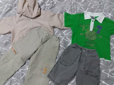 Paket odeće Pantalone  Azuro, Jakna Todor, majica  Valentino i - Sombor