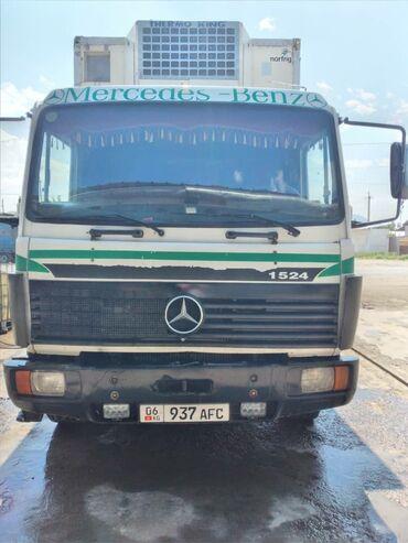 Купить грузовик до 3 5 тонн бу - Кыргызстан: Мерседес Бенц 1524 сатылатСостояние нормальноКузов 6.20/2.45/2.80 Общ