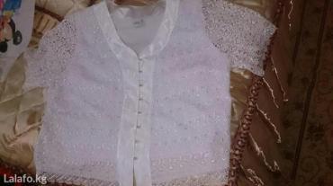 турецкая блуза в Кыргызстан: Турецкая размер 52. юбка и кофта 100сом
