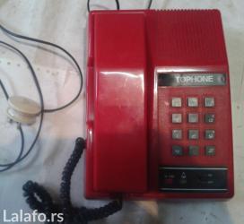 Prodajem fiksni telefon sa slike,polovan,ispravan,-Phone-šaljem brzom - Nova Pazova