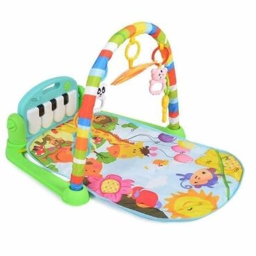 Muzička podloga za bebe FitnessSa klavirom Aktivna gimnastika podstiče