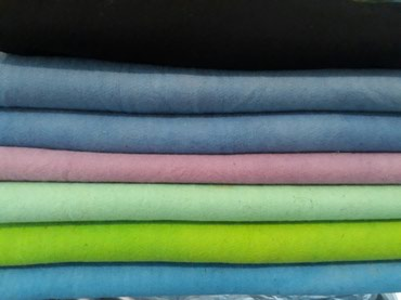 Войлок крашенный (цветные)100% шерсть в Бишкек