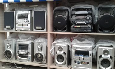 музыкальные-центры в Кыргызстан: Продаю музыкальные центры как усилитель. AUX