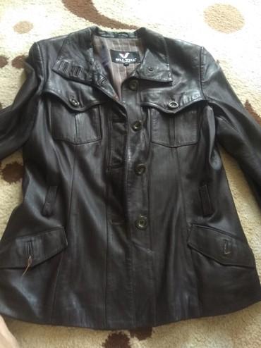 тёплую кожаную куртку в Кыргызстан: Продаю бу кожаную куртку