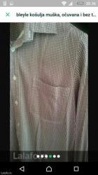 Muška košulja, veličina l - Pozarevac