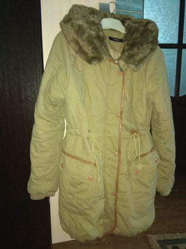 Зимняя куртка парка корейская ,состояне нового ,размер s m в Бишкек