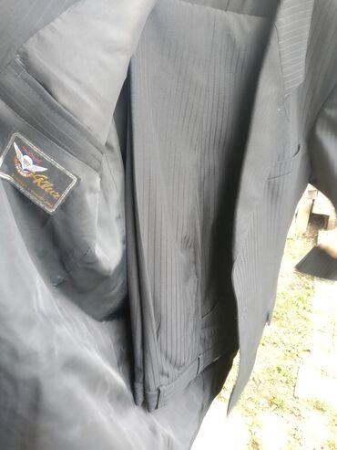 Pantalone - Srbija: Komplet sako i pantalone u sivoj boji . Skoro novo i ocuvano . Malo