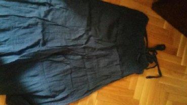 TIMEOUT duga teget suknja, letnja